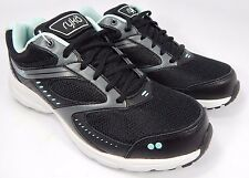 Ryka Circuit Women's Running Shoes Size US 8 M (B) EU 39 Black Aqua Blue