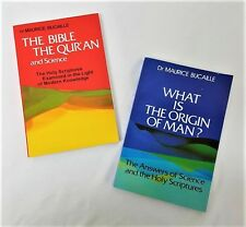 SPECIAL OFFER: The Bible, The Quran & Science & What is the Origin of Man?