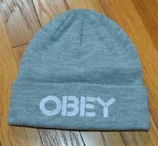 Mens Adult OBEY PROPAGANDA Knit Winter Beanie Cap Hat One Size Fits Most