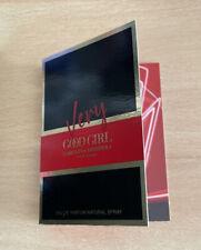 NEW - Carolina Herrera Very Good Girl Eau De Parfum Edp Sample 1,5ml 0.05oz