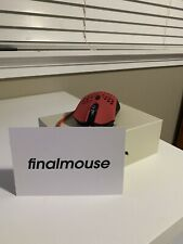 Finalmouse Air58 Ninja Gaming Mouse - Cherry Blossom Red w/ HyperGlides