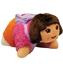 "Pillow Pets Pee-Wees 11"" Dora The Explorer child kid nap time toy plush NEW"