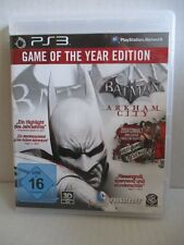Sony PLAYSTATION 3 ps3 gioco Batman Arkham City Game of The Year Edition