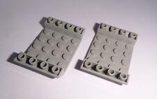 Lego (30283) 2 Schrägsteine invers 6x4x1, in alt hellgrau aus 4511 4479 4483