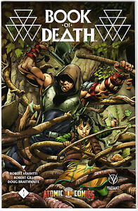 Book of Death #1 Exclusive ATOMIC COMICS VARIANT by Scott Eaton - Valiant !!