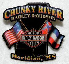 Chunky River, Meridian, MS Harley-Davidson Motorcycle Shop Pin