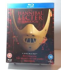 The Hannibal Lecter Trilogy [Blu-ray Box Set]All 3 Movies- NEW-Free Shipping