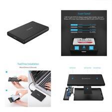 """USB3.0 SATA III 2.5"""" External Hard Drive Enclosure 7mm 9.5mm Inch HDD/SSD Tool"""