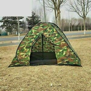 3-4 Man Person Auto Pop Up Tent Outdoor Festival Camping Travel Beach Family UK