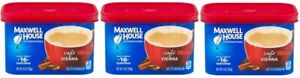 (Pack of 3) Maxwell House International Cafe Vienna 9 oz Each