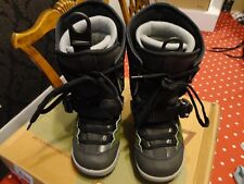 FLEXIBLE BY SWITCH AXEL SNOWBOARD BOOTS  BLACK & GREEN UK 3