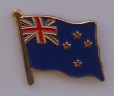 New Zealand Kiwi Country Flag Enamel Pin Badge