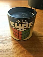 CUBO DI RUBIK ORIGINALE RUBIK'S CUBE VINTAGE IDEAL 1981 IN BOX E ISTRUZIONI