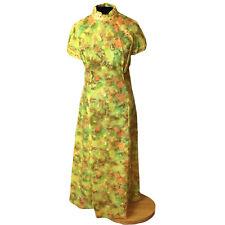vintage 1960's Handmade short sleeve dress size medium