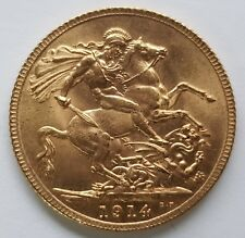 More details for 1914 to 1918 world war one 22 carat gold full sovereign - choose your year!