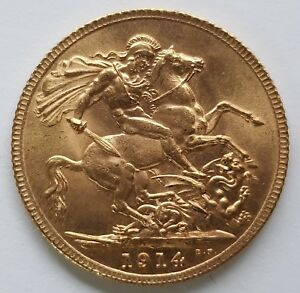 1914 to 1918 WORLD WAR ONE 22 CARAT GOLD FULL SOVEREIGN - CHOOSE YOUR YEAR!