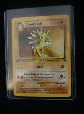 Sandslash (41/62) 1st Edition Pokémon Trading Card