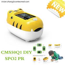 Pediatric Finger Pulse Oximeter Blood Oxygen Monitor Spo2 Heart Rate Child Diy