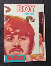 1978 BOY Italian Magazine #14 VG 4.0 w/ Beatles Poster