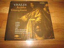 JUDITHA TRIUMPHANS - VIVALDI - QUALITON RECORDS DOUBLE LP LPS-11359-60