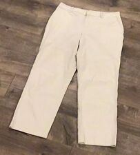 Lauren Ralph Lauren Womens Cropped Capri Pant Size 10 Khaki