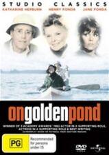 ON GOLDEN POND Katharine Hepburn, Henry Fonda, Jane Fonda DVD NEW