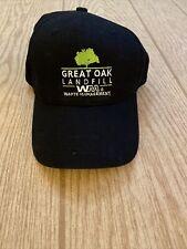 Great Oak Landfill Waste Management WM Snapback Hat Cap New