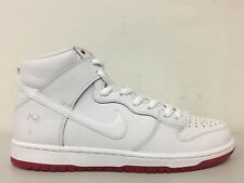 Nike SB Zoom Dunk High Pro QS Kevin Bradley White Red AH9613 116 Size 13