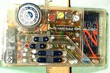 GPX A2870 Clear Transparent AM FM Analog Stereo Radio Vintage Prison Retro Works