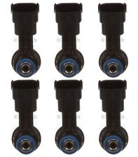 Set of 6 Bosch Fuel High Pressure Injectors for Flex Taurus MKS MKT 3.5L V6 2010