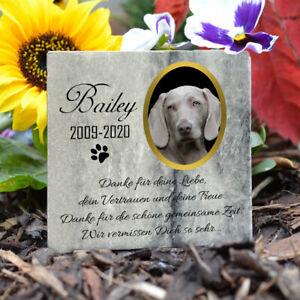 Personalisiert Tiergrabstein Gedenktafel Marmor Stein Gedenkplatte Katze Hund