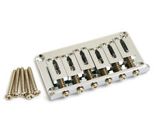 Gotoh Chrome Hardtail 6-string Guitar Bridge SB-5115-010