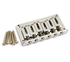 Gotoh Chrome Hardtail 6-string Guitar Bridge SB-5115-010