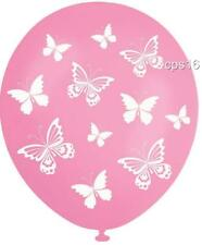 10 x Butterflies Party Balloons...Butterfly Decorations..Helium Quality