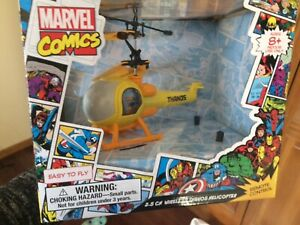 Marvel Comics avenger 2.5 CH wireless thanos helicopter remote control Easy NEW