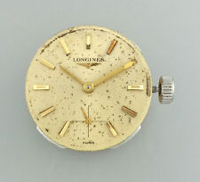 VINTAGE LONGINES CALIBER 370 MENS WRIST WATCH MOVEMENT – RUNS GOOD – c. 1964