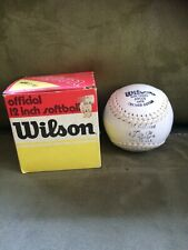 Vintage Wilson A9001 Official 12 Inch Softball New In Original Box Made In Haiti