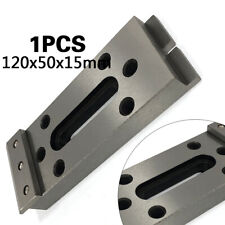 1pc Wire Edm Fixture Stainless Board Jig Tool For Clamping and Leveling 120x50mm