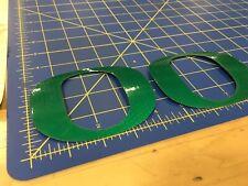 Oregon Ducks Helmet Decals (2)Metallic Green - Full Size Pro Combat Edition