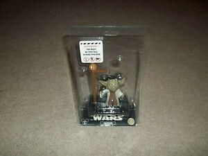 "New Rare Yoda In The Park Star Wars Disney Parks Bobblehead 4"" Figure Ride NIP"