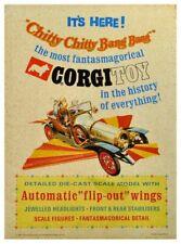 Corgi Toys 266 Chitty Chitty Bang Bang Poster Advert Sign Leaflet A1/A2/A3/A4