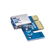 PCI-E Express card slot (1X) to USB3.0 Interface de Montage MINI Carte Adaptateur Bitcoin