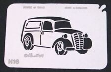 Stainless Steel Old Style Van H16 cake decorating / card making stencil