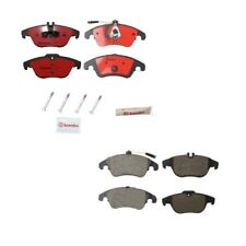 Mercedes Benz W204 C300 C207 E350 E550 Front & Rear Ceramic Disc Brake Pads Kit