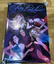 Pretty Little Liars, Stitchers, And Shadowhunters NYCC Posters (ABC Family)