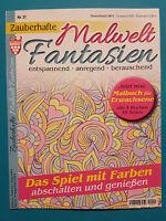 Zauberhafte Malwelt Fantasien Nr.21 unbenutzt 1A absolut TOP