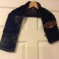 CC faux mink fur collar