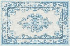 Hand Finished Loom Antique Oushak Wool Oriental Area Rug 2'62''x4'59'/Blue817