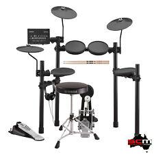Yamaha DTX452KPLUS Electronic Drum Kit with Headphones DS550 Throne & Sticks