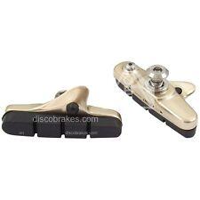 Titanium Colour Road Brake Pads for Shimano Dura-Ace, Ultegra, 105 BR-7800 7700